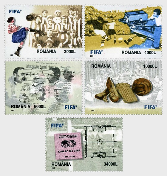 The 2004 FIFA Centennial - The Football and the History of FIFA - Set