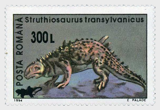Prähistorische Tiere (1994) - Reptilienaufdruck - Serie
