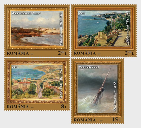 Marine Landscapes In Painting - Set