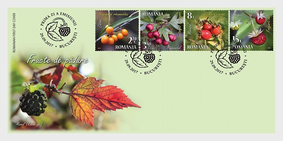 Berries - First Day Cover