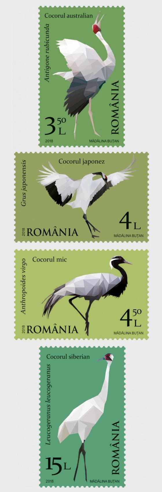 Migratory Birds - Cranes - Set