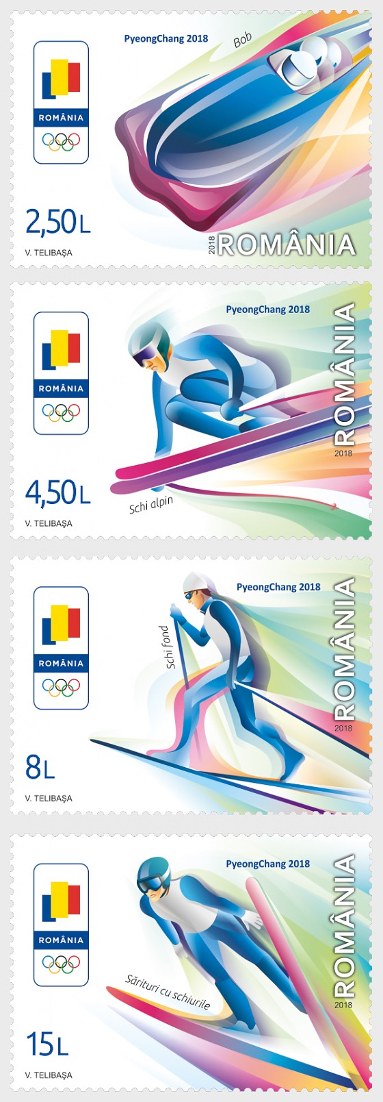 Winter Olympic Games 2018 - Set