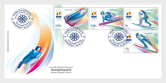 Winter Olympic Games 2018 - First Day Cover