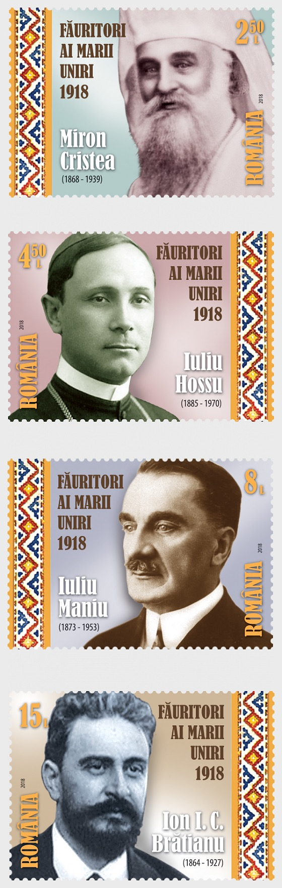 Fundadores de la Gran Unión (I) - Series
