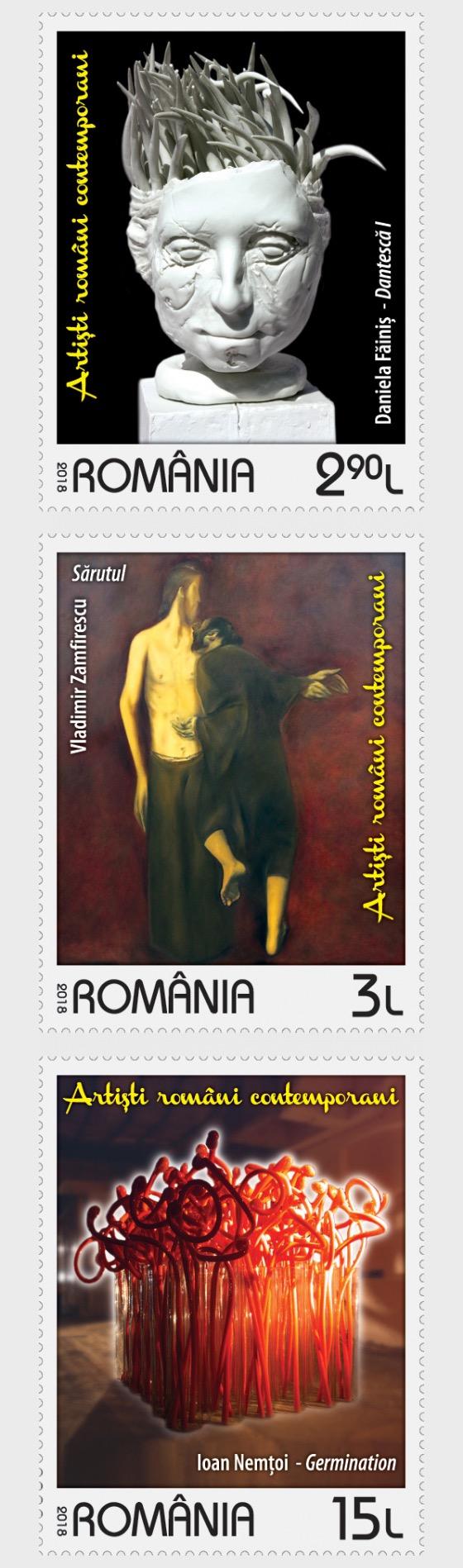 Contemporary Romanian Artists - Set