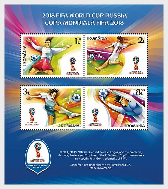 2018 FIFA World Cup™ - Miniature Sheet