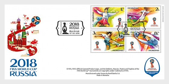 2018 FIFA World Cup™ - First Day Cover