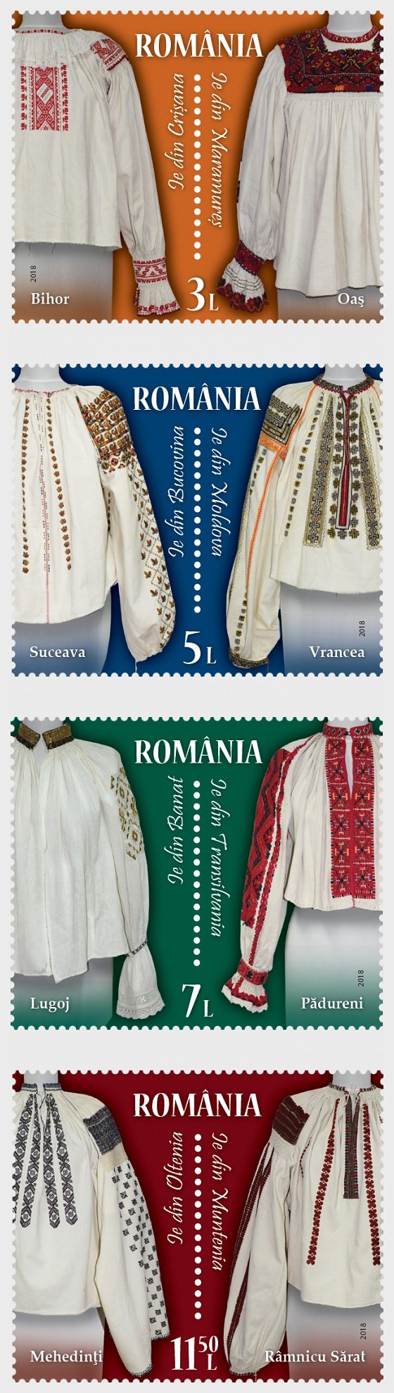 The Romanian Blouse, Unity in Spirit - Set
