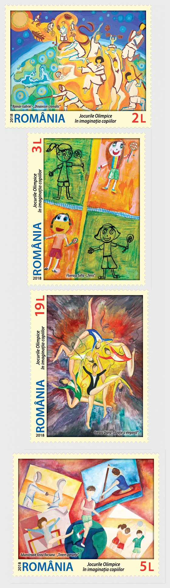 Olympic Games - In Children's Imagination - Set