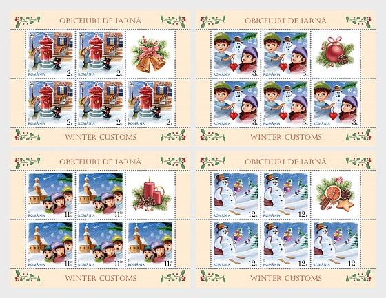 Winter Customs - Sheetlets