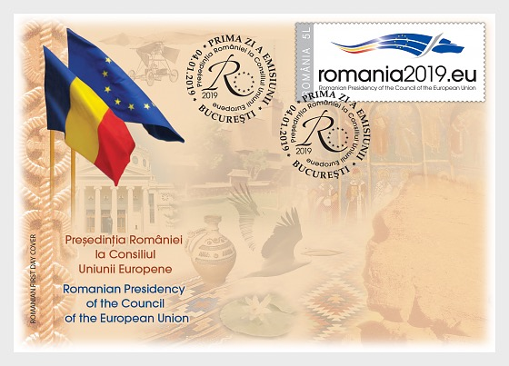 Romania's Presidency of the Council of the European Union - First Day Cover
