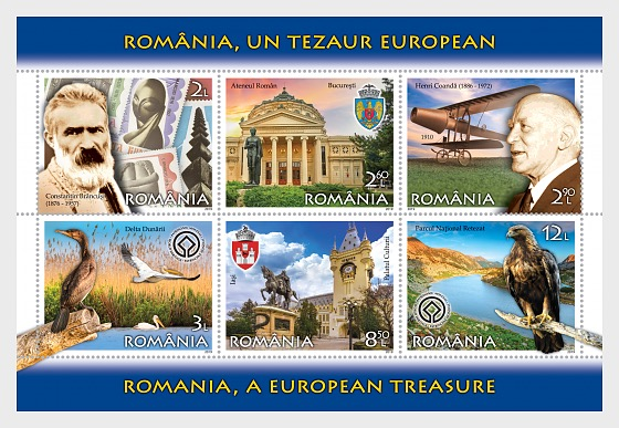 Romania, A European Teasure - Miniature Sheet
