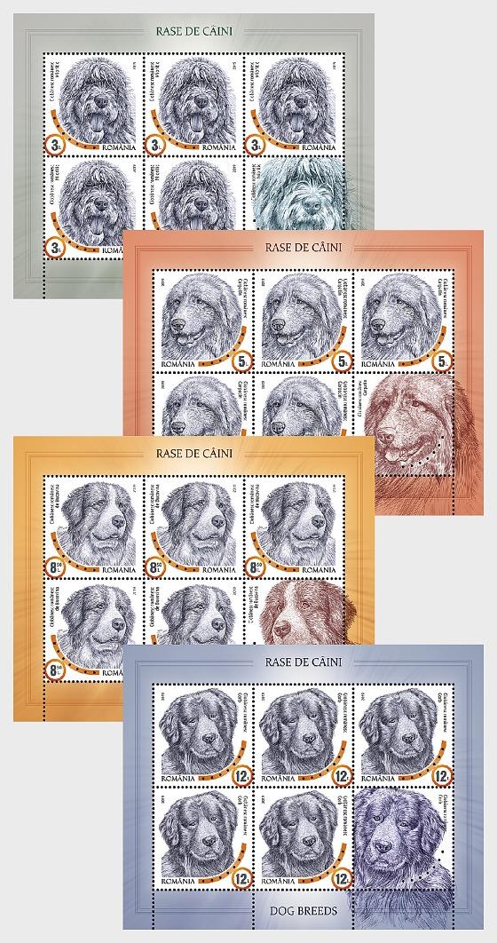 Dog Breeds - Sheetlets