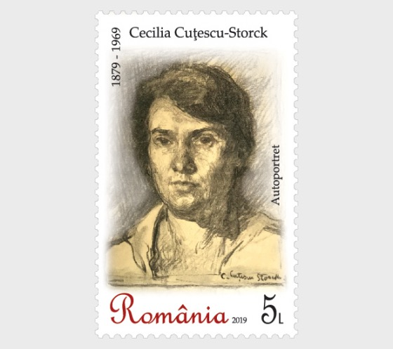 Cecilia Cutescu-Storck, 140th Anniversary of her Birth - Set