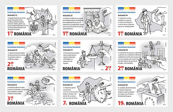 The Constitution of Romania, Guarantor of the Romanian Citizens Rights - Set