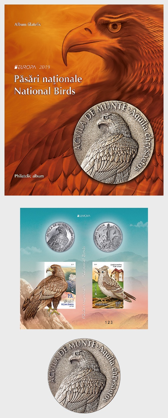 Europa 2019 - National Birds - Album - Collectibles