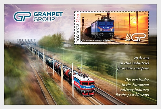 Grampet Group, proven leader in the European railway industry for the past 20 years - Miniature Sheet
