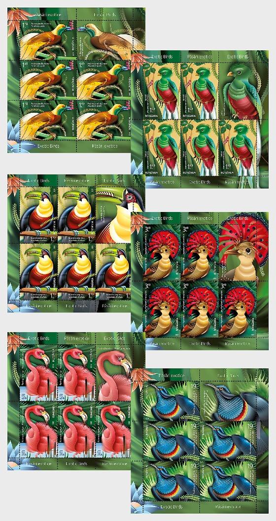 Exotic Birds - Sheetlets