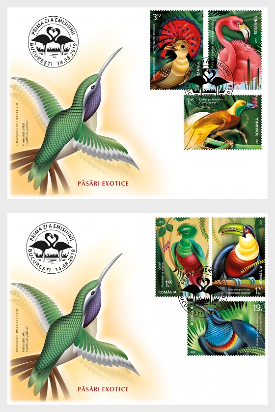 Exotic Birds - First Day Cover