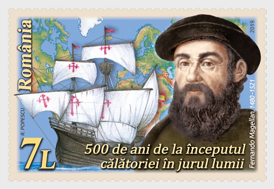 Magellan, 500 Years Since, The Beginning of the Journey around the World - Set