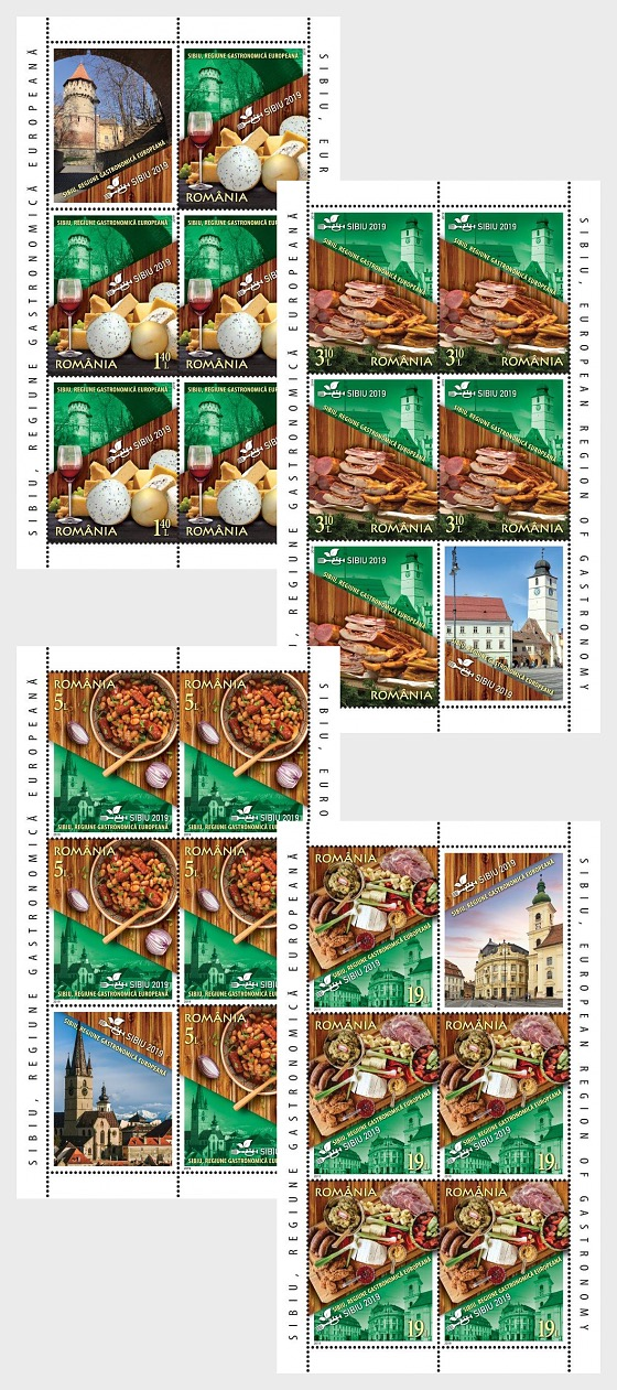 Sibiu, European Region of Gastronomy - Sheetlets
