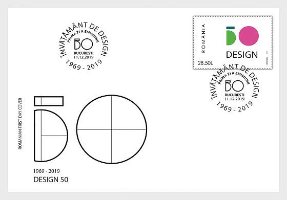 Design 50 - Ersttagbriefe
