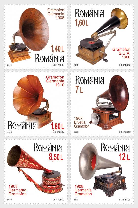 Colecciones Rumanas Gramófonos - Series