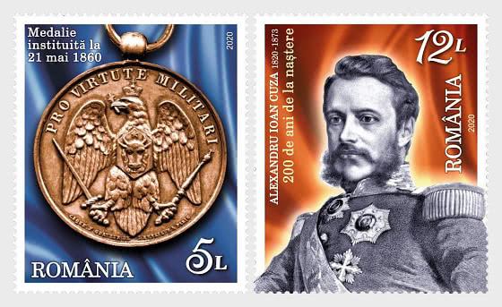Aniversarios, Eventos - Alexandru Ioan Cuza 200 Años de su Nacimiento - Series