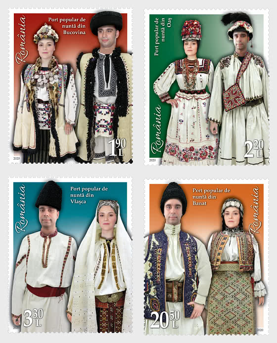 Folk Wedding Clothing (I) - Set
