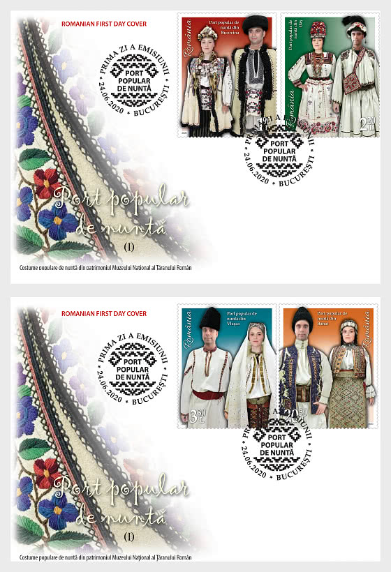 Folk Wedding Clothing (I) - First Day Cover