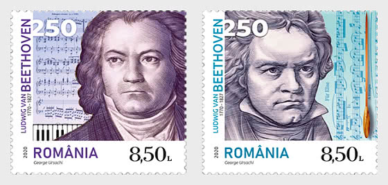 Ludwig van Beethoven, 250th Anniversary of His Birth - Set