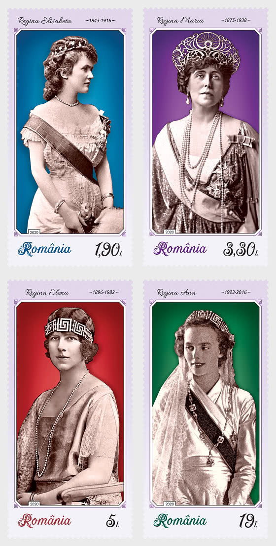 The Uniforms of Royalty (III) - The Queens of Romania - Set