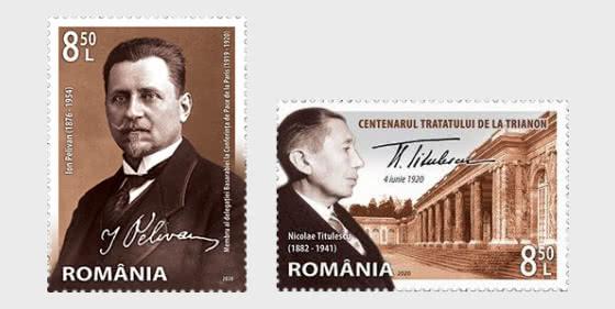 Los Tratados De Paz De París 1919-1920 - Series