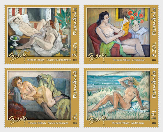 Desnudos En La Pintura Rumana - Series