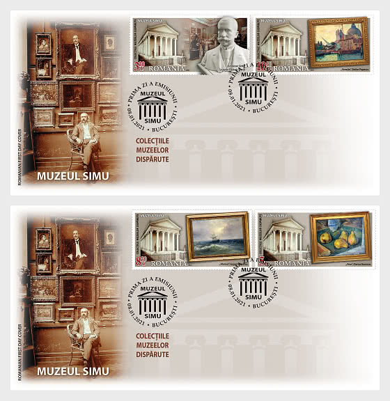 Collections Of Lost Museums - First Day Cover