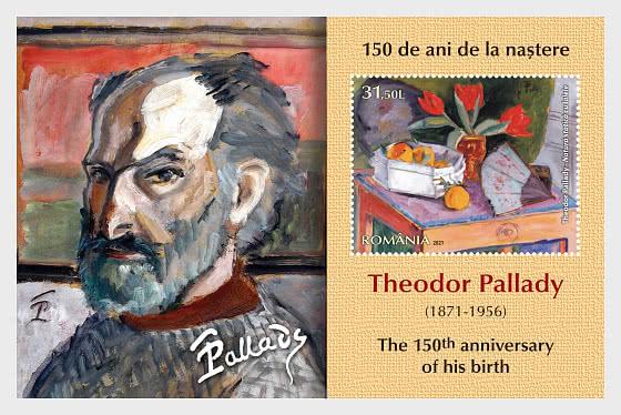 Theodor Pallady - The 150th Anniversary Of His Birth - Miniature Sheet