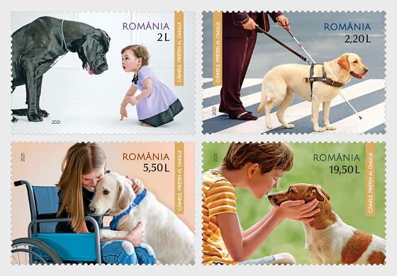 狗 - 人类的朋友 - 套票