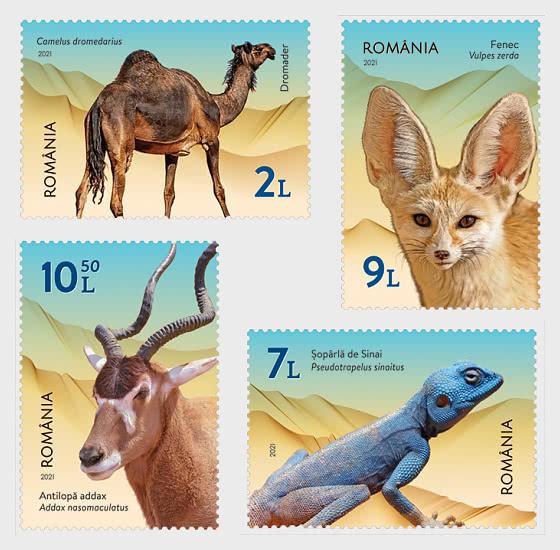 Desert Fauna - Set
