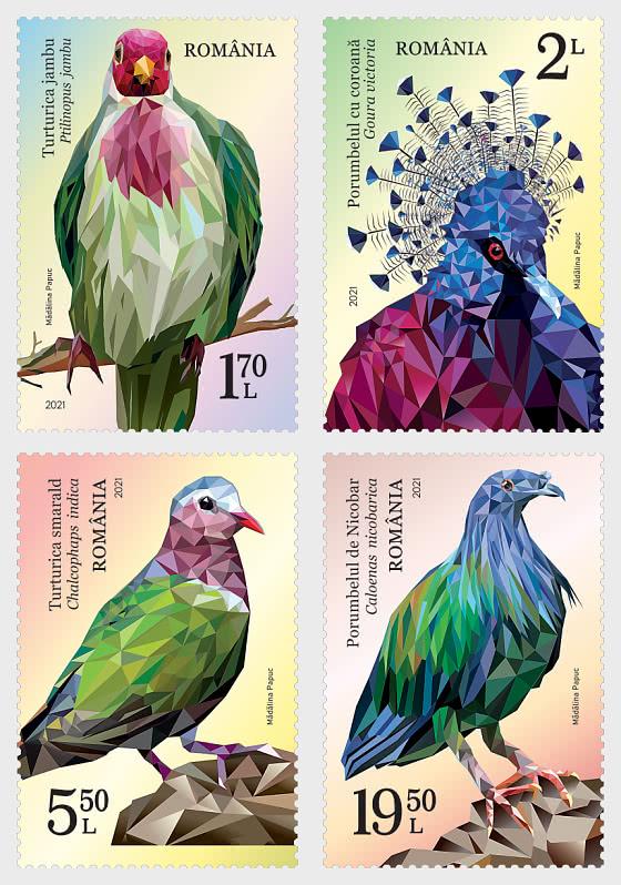Exotic Pigeons - Set