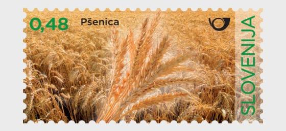 Cereali della Slovenia - Grano - Serie