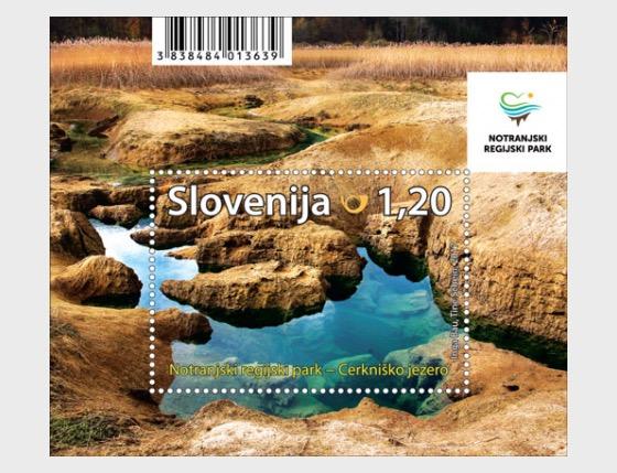 Notranjska Regional Park - Miniature Sheet