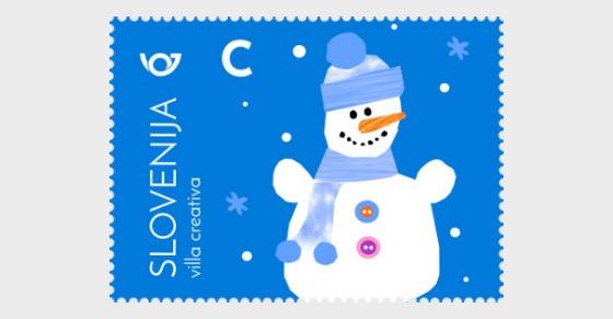 New Year 2017 - (Snowman) - Set