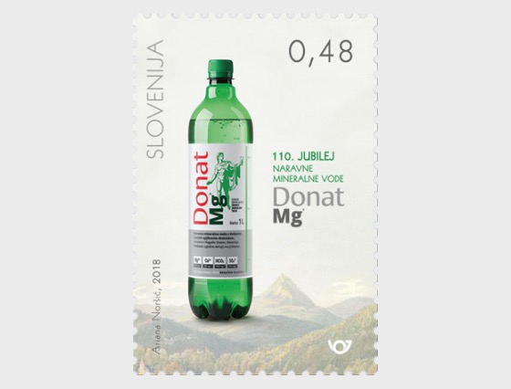 110th Ann of Donat Mg Natural Mineral Water - Set