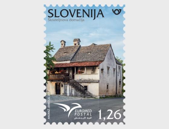 Euromed Postal - Houses of the Mediterranean - Set