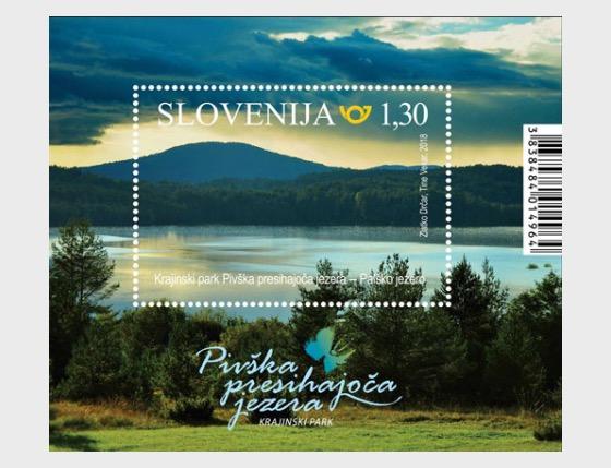 The Pivka Seasonal Lakes Nature Park - Miniature Sheet