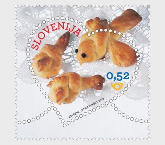 Francobollo di Auguri - San Valentino - Serie