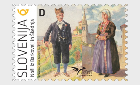 Euromed Postal - Costumes of the Mediterranean - Set