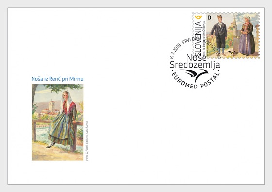 Euromed Postal - Costumes of the Mediterranean - First Day Cover