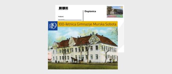 100 Anni di scuola di Grammatica Murska Sobota - Cartolina