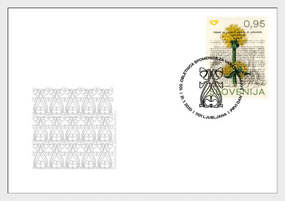 Anniversaries - Centenary of the Memorandum on Nature Conservation - First Day Cover